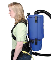 Clarke Comfort Pak 10 Quarts Backpack Vacuum Cleaner