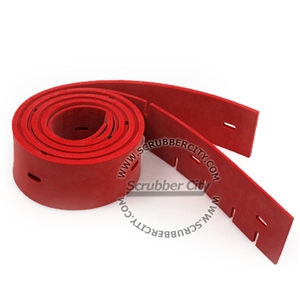 Squeegee Set 2 Blades Red Rubber Replaces Linatex Oem