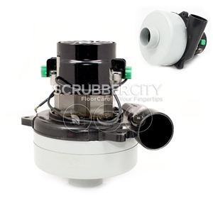 Ametek lamb vacuum motor 2 stage 36 volts 5 7 inlet tube for 2 stage vacuum motor