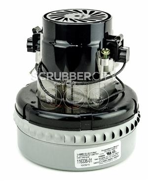 Ametek lamb 116336 01 120v vacuum motor 2 stage for 2 stage vacuum motor