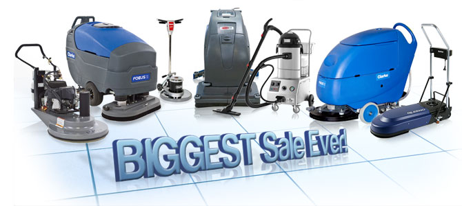 Scrubber City Floor Machine Sale